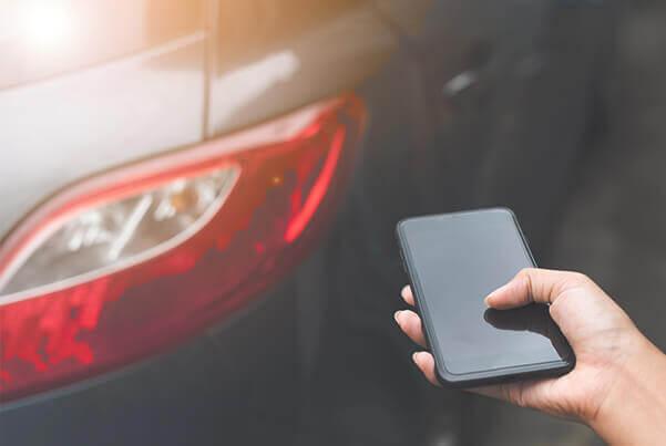 Encuentra tu vehículo con una aplicación