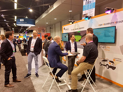 Quercus Technologies' booth at Intertraffic Amsterdam 2018