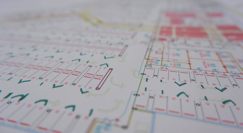 El saber hacer de Quercus Technologies - imagen de unos planos