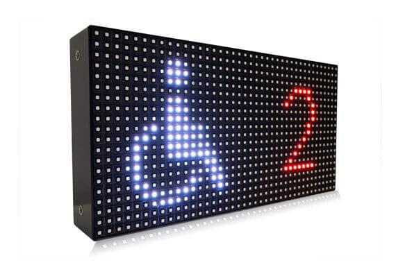 Digital parking sign picture