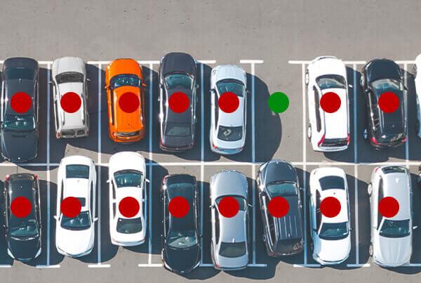 Système de guidage des parkings extérieurs par Quercus Technologies