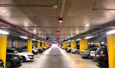 Parking guidance in Liget