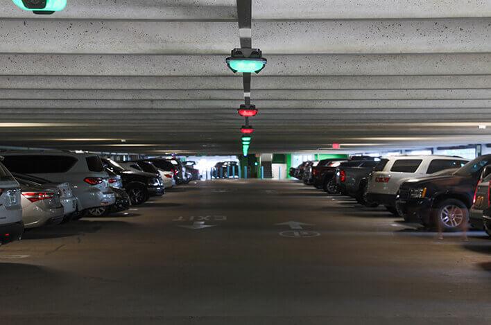 Image du parking de l'hôpital pour enfants de Dallas