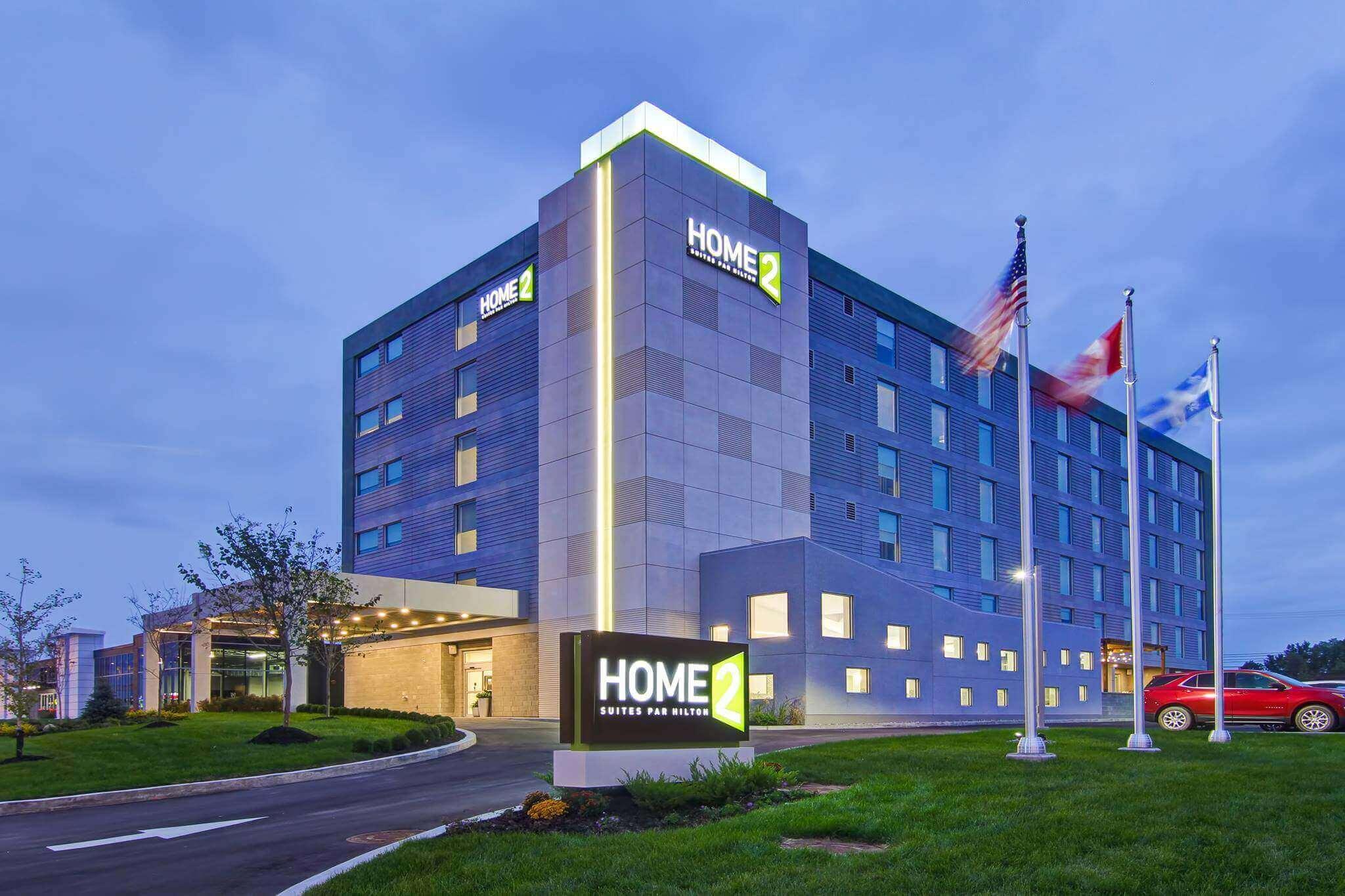 Foto del exterior del hotel H2S