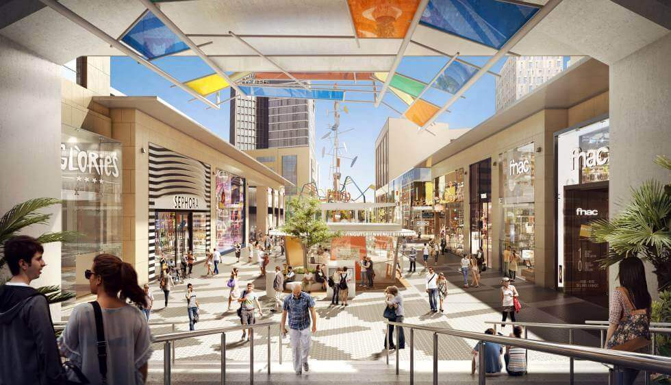 Image of the Glorias Barcelona Shopping Centre